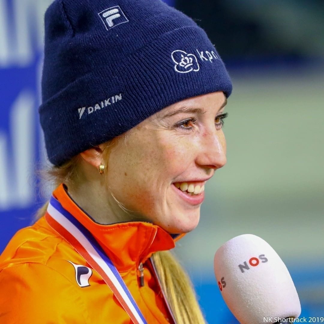 World champion Lara van Ruijven to baptize her own lily